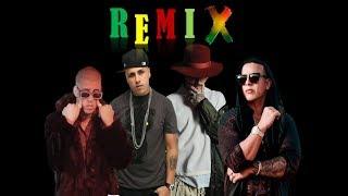 Remix Equis Nicky Jam X J. Balvin X Daddy Yankee X Bad Bunny Dj Sasuke.mp3