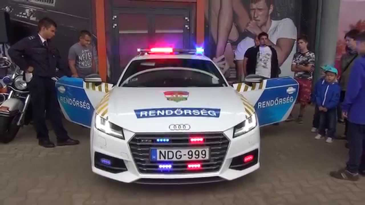 Audi Tts 2000 Hungarian Police Car 310 Hp Youtube