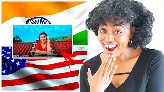 American Foreigner Reaction to Indian Music Video: Jeetenge Hum | Dhvani Bhanushali