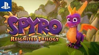 Pływający z ogniem  Spyro Reignited Trilogy #4   PS4   Gameplay   Ripto's Rage