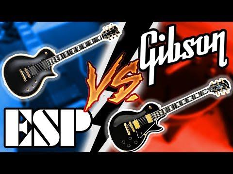 Gibson Les Paul vs ESP (E-II) Eclipse Shootout || Which Should You Get??