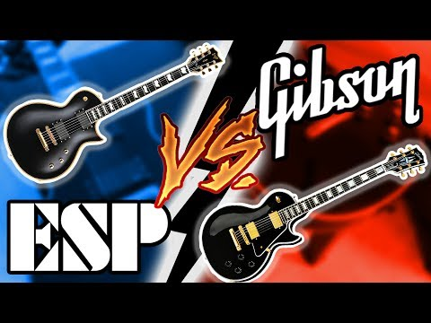 Gibson Les Paul Vs ESP (E-II) Eclipse Shootout    Which Should You Get??