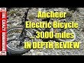 $499 Walmart/Amazon Ancheer Electric Bicycle In-Depth review after 3000 miles - What Broke so FAR!