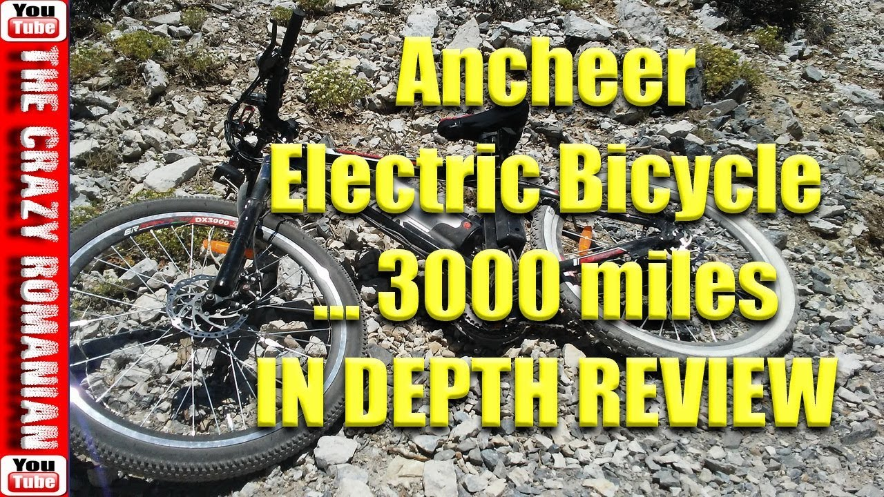 d227d37dad9 $499 Walmart/Amazon Ancheer Electric Bicycle In-Depth review after 3000  miles - What Broke so FAR!