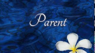 How to pronounce parent in French