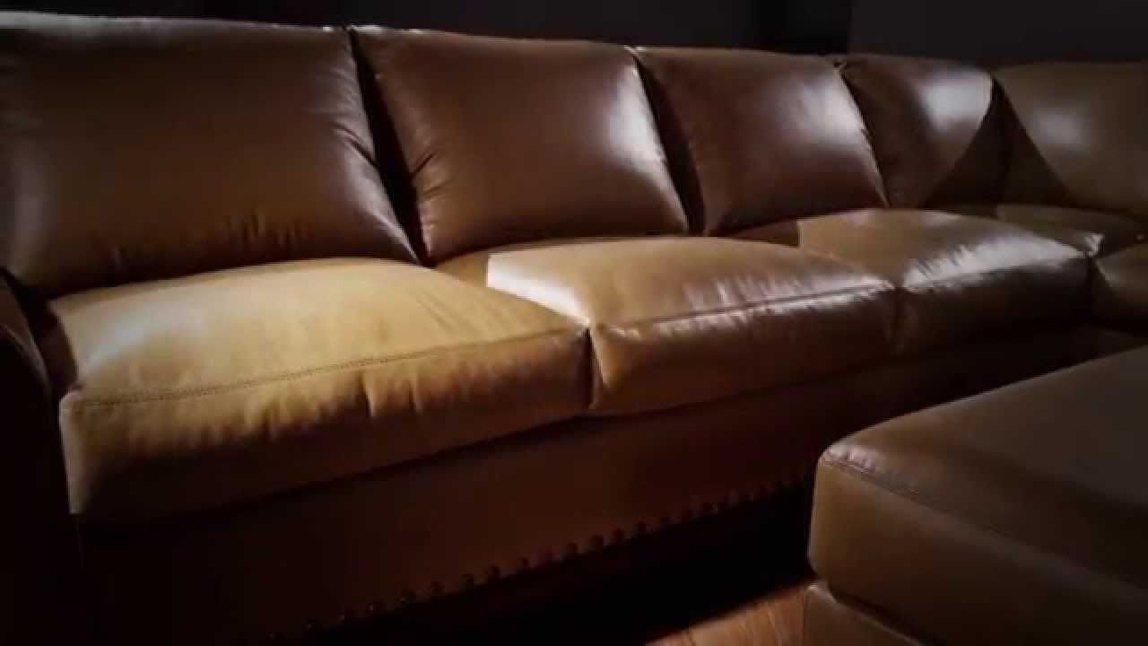 Sofa Mart   Elite Leather Collection   YouTube