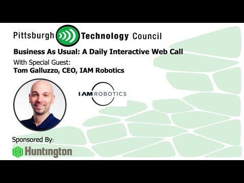 IAM Robotics CEO Appears on Business as Usual