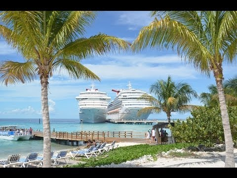Grand Turk Video Tour and Slideshow of Cruise Port and Island