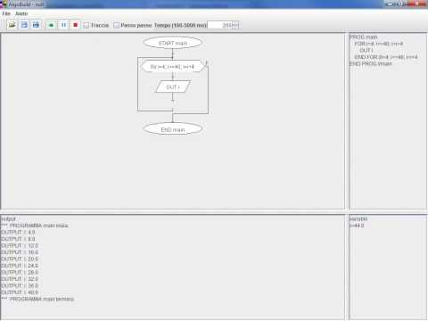For - Programmazione a blocchi con Algobuild from YouTube · Duration:  12 minutes 50 seconds