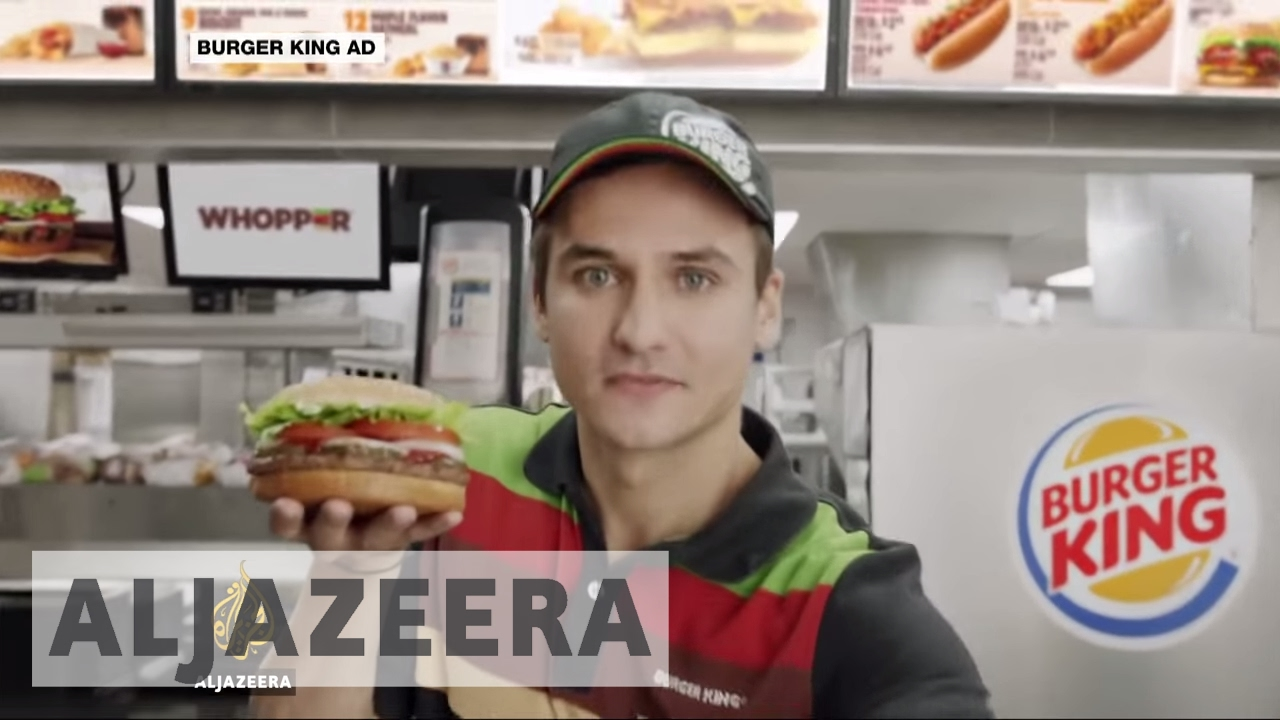 'Burger King raped my face', claims model on angry YouTube video