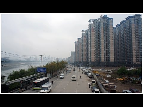 Walking in Wuhan, ( China )