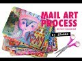 Mail Art POSTCARDS for the DIY Postcard Swap + download free tracker