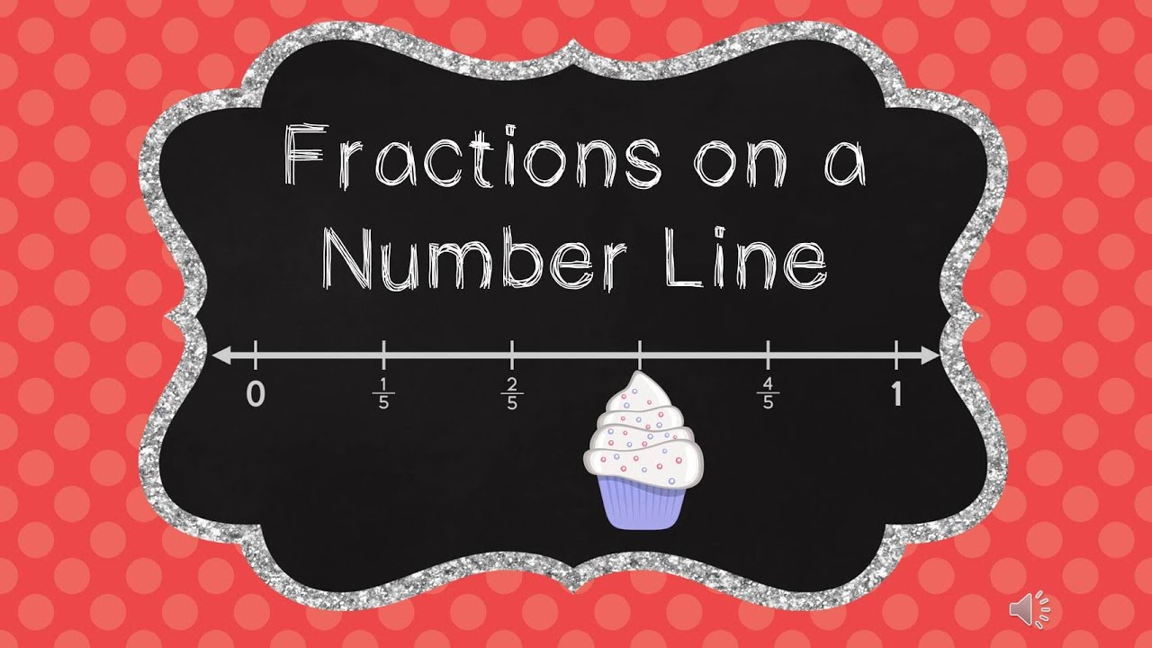 Fractions on a Number Line 3rd Grade Math Teaching Tutorial for Kids ...