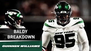 Baldy Breakdown: Quinnen Williams Is Already Making An Impact | New York Jets | NFL