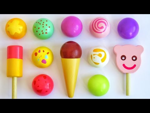 Thumbnail: Toy ice cream popsicles learn colors for babies toddlers preschoolers