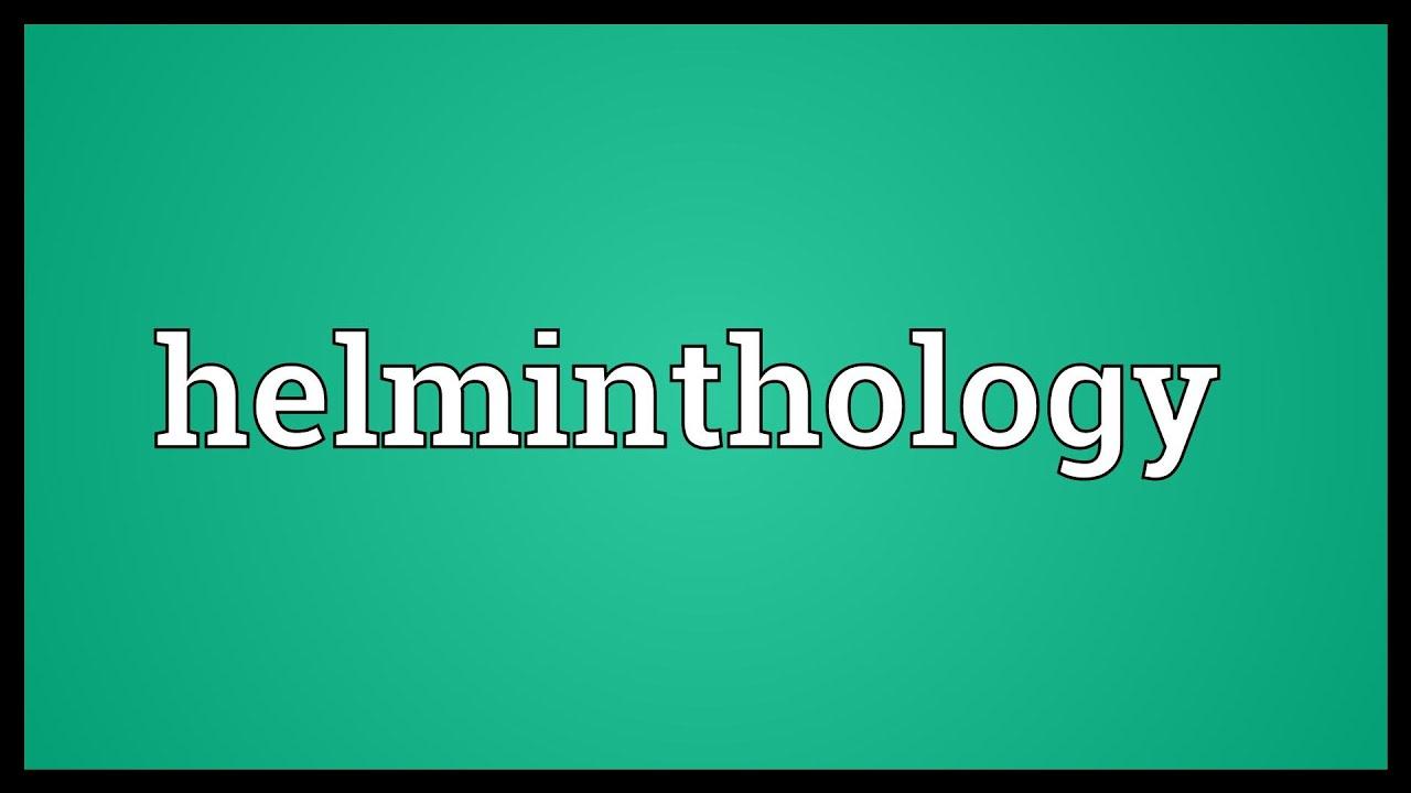 helminthology adalah