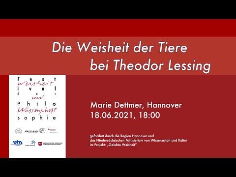 Die Weisheit der Tiere bei Theodor Lessing