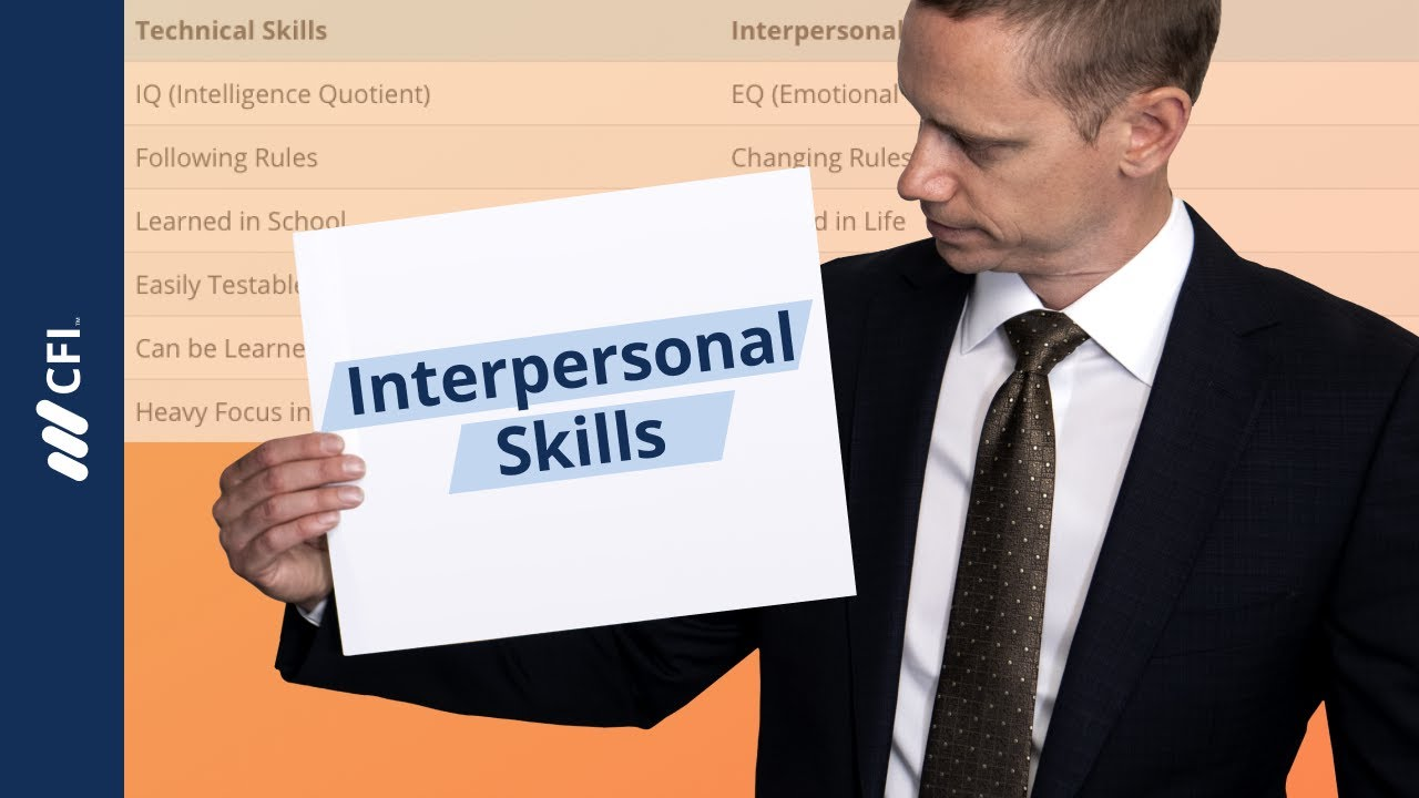 Interpersonal Skills -...