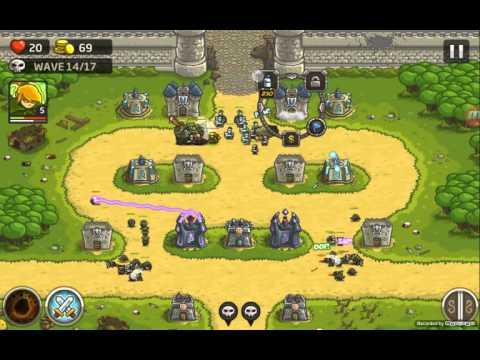 Kingdom Rush ,защита замка!