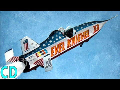 Evel Knievel and The Reusable X-3 Volksrocket
