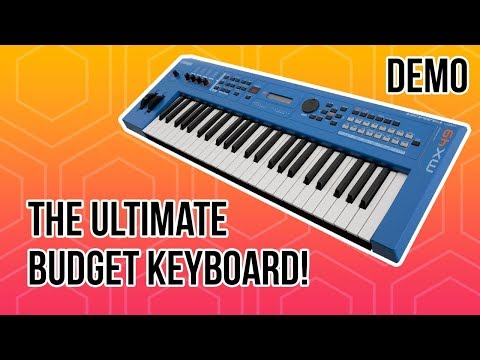 The ULTIMATE Budget Keyboard for Churches! (Yamaha MX49 Demo)