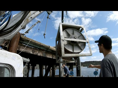 Halibut Prep - Reel, Hydraulics, And Gear Assembly