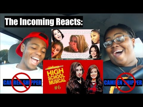 THE INCOMING TRY NOT TO LAUGH CHALLENGE AND REACTION TO CAMREN CRACK #6!