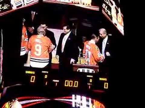 Chicago Blackhawks Special Night Hull Mikita NHL
