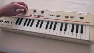 Casiotone MT-40 Demonstration