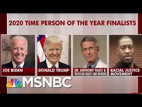 Time Announces Its Finalists For 2020 Person Of The Year | Morning Joe | MSNBC