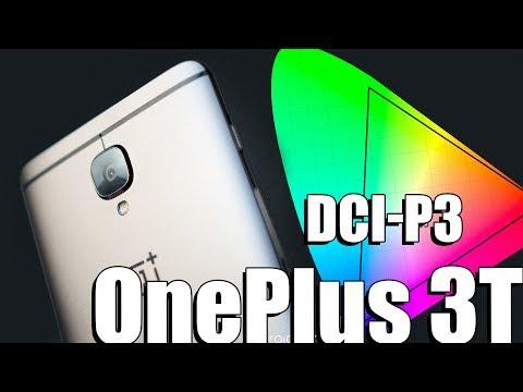 Калибровка экрана DCI-P3 на OnePlus 3T через таскер