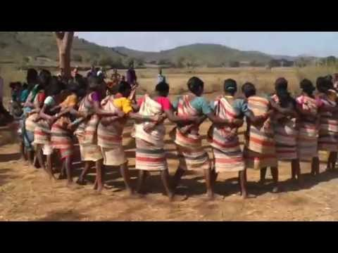 INDIA - Gadaba Tribal Dancing in Orissa