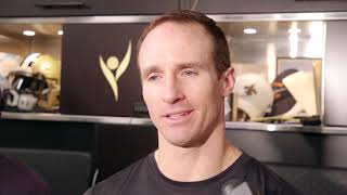 Drew Brees remembers the impact of Tyler Trent
