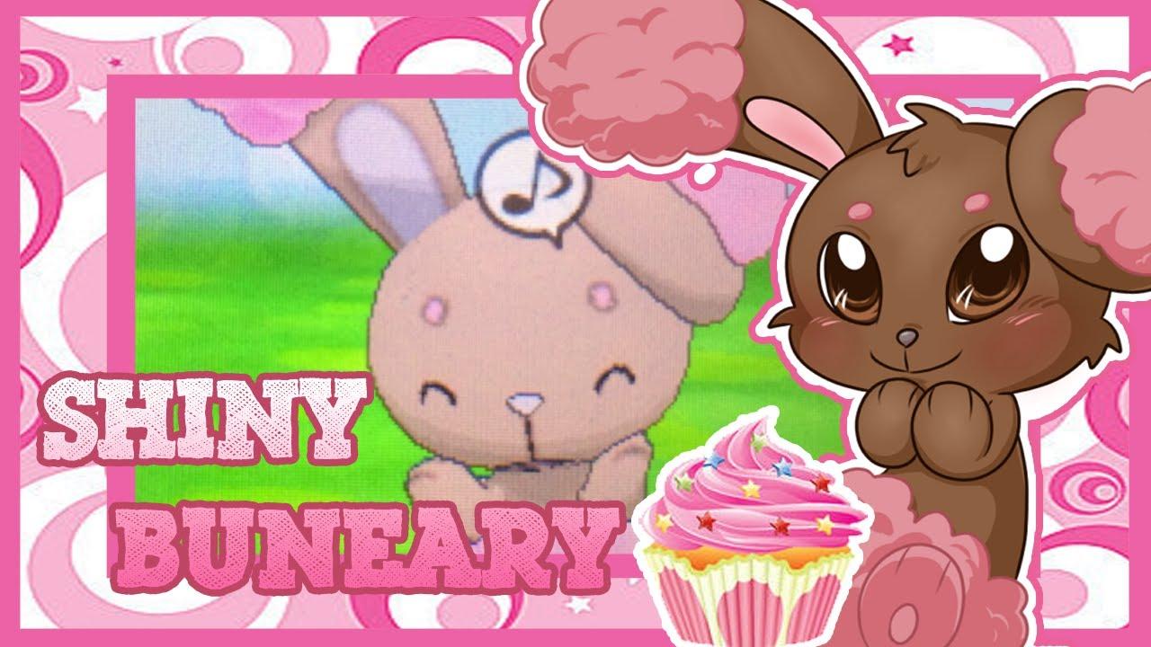 Foyt Shiny Buneary Via Mm 100 200 Eggs On Pokemon X Youtube