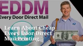 Learn All About Cheap Every Door Direct Mail Printing