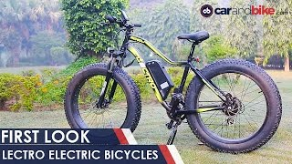 lectro electric bicycles   first look   ndtv carandbike