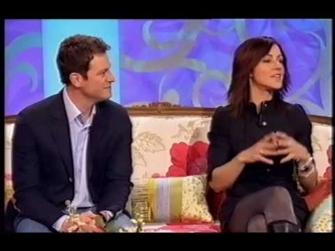 Julia Bradbury - tights and boots