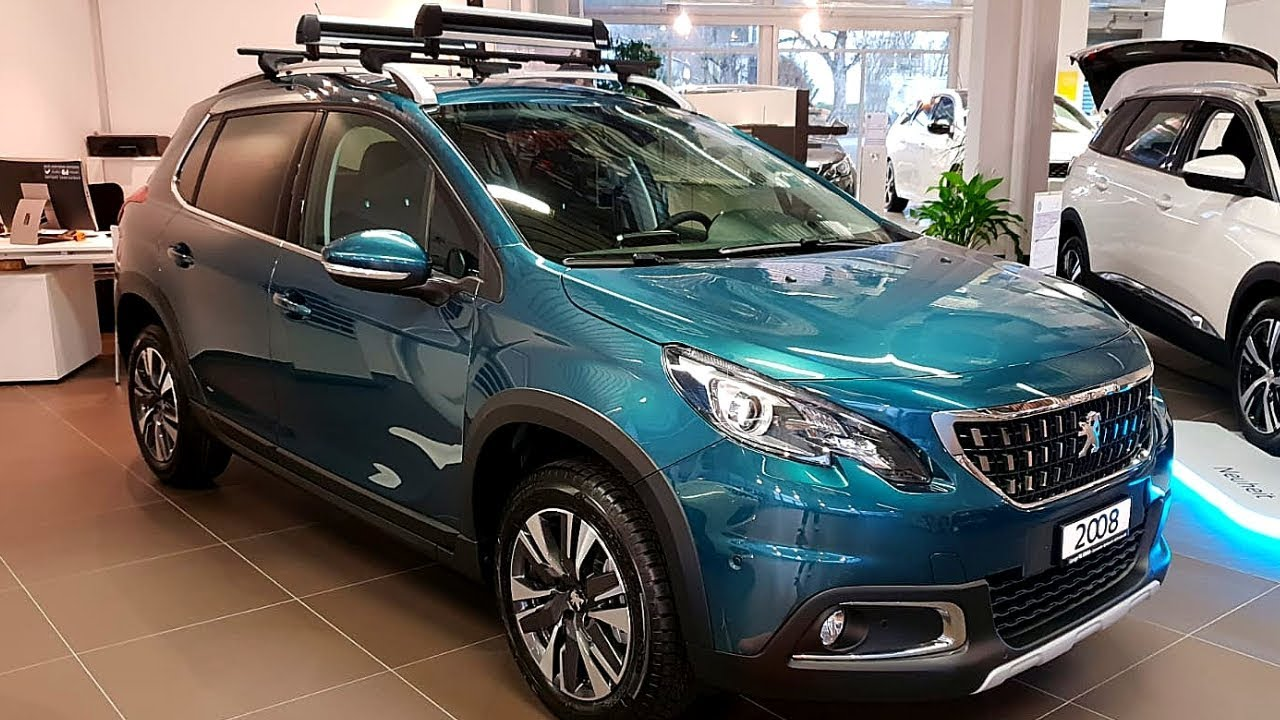 new peugeot 2008 gt line 2018 interior review youtube. Black Bedroom Furniture Sets. Home Design Ideas