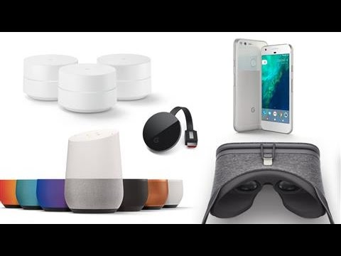 Google Pixel, Home: A Guide to Google's Gear