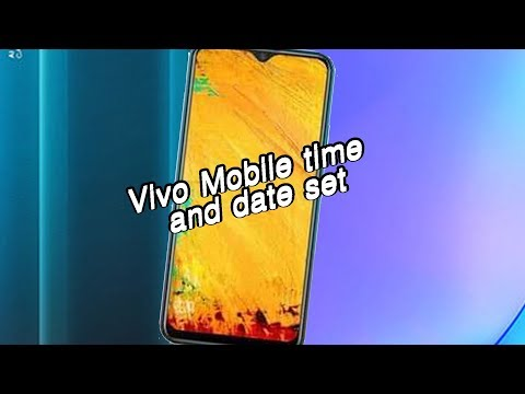 how-to-set-time-and-date-vivo-y15-mobile