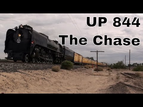 🔴Union Pacific UP 844 Nov 12 2011