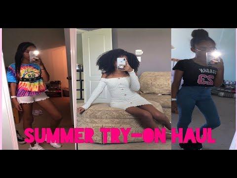 SUMMER CLOTHING TRY-ON HAUL | Fashion Nova & Romwe