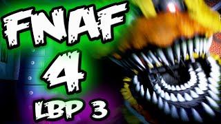 FNAF 4 Jumpscares & Funny Moments || FNAF 4 Little Big Planet 3 Five Nights at Freddy's 4 Jumpscares