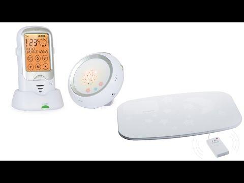 Цифровая радионяня Ramili Baby RA300SP c монитором дыхания Movement Sensor Pad SP200