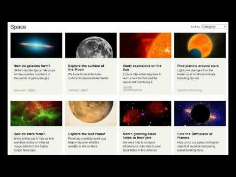 Zooniverse.org Sign Up And Start Exploring