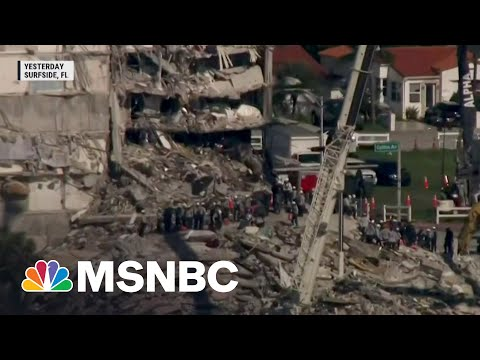 Search For Survivors In Condo Collapse Continues Into Sixth Day