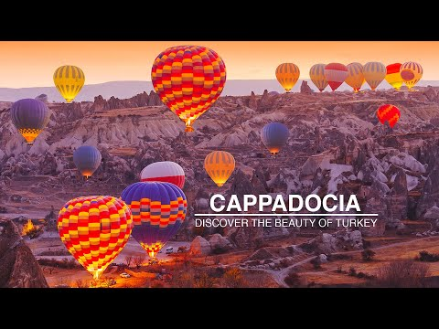 Discover Cappadocia, Turkey Travel Guide 2019 | Hot Air Balloon Flight in Cappadocia, Turkey