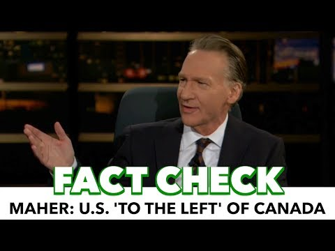 Bill Maher Wants U.S. Immigration To Be Like Canada