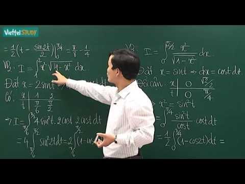 Phương pháp đổi biến số tính tích phân   phần 1  - kenhdaihoc.com