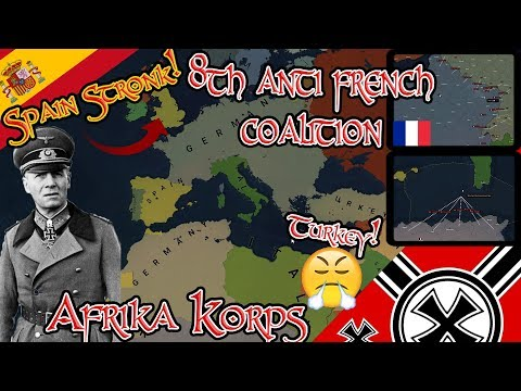 Смотреть Fear Spain! 8th Anti France Coalition; Germany WWII Age Of Civilizations II онлайн